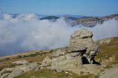 Piedras de las montañas bucegi — Foto de Stock