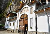 Ialomita klášter vchod — Stock fotografie