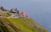 Small houses from Transfagarasan — Stock Photo