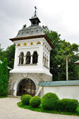 Sinaia monastery tower — Stock Photo
