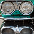 Headlights of a Cadilac — Stock Photo