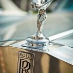 Rolls-Royce - The Spirit of Ecstasy — Stock Photo