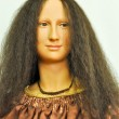 Gioconda's wax statue — Stock Photo
