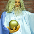 Stock Photo: Wax statue of Zeus