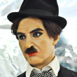 Wax statue of Charles Chaplin — Stock Photo