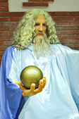 Wax statue of Zeus — Stock Photo