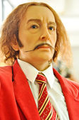 Wax statue of Salvador Dali — Stock Photo