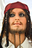 Captain Jack Sparrow, Pirates of the Caribbean — Stock Photo