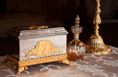 Orthodox religious items — Stock Photo