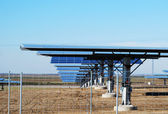 Solární fotovoltaické panely — Stock fotografie