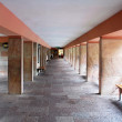 Corridor of Shrine of Our Lady of Covadonga. Asturias. Spain — Stock Photo #10588300