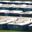 Stock Photo: Boats on the lake
