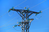 Medium voltage tower — Stock Photo