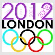 London olimpic 2012 — Stockvektor