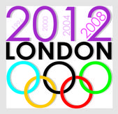 London Olimpic 2012 — Stock Vector