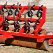 Stock Photo: Red farm tool close up