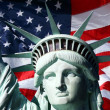 Miss Liberty — Stock Photo