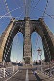 Ponte de brooklyn — Fotografia Stock