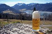 Beer glas — Stock Photo