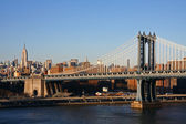 Manhattan Bridge — 图库照片