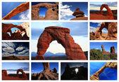 национальный парк арки — Стоковое фото
