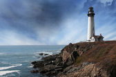 Pigeon Point Lighthouse — Stock Photo