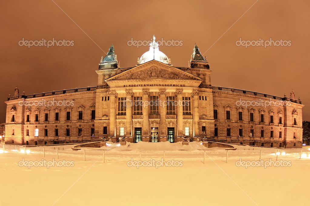 Federal Administrative Court, Leipzig, Germany — Stock Photo #8572784