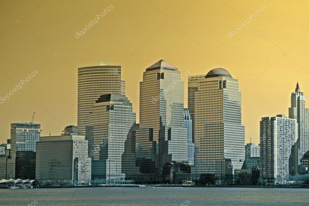 New York Cityscape — Stock Photo #8613377