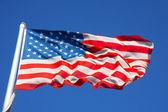 Flag of america — Stock Photo