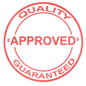 Approved Quality — Stock Photo