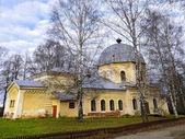 An ancient temple of Russian Orthodox Church — Stock Photo