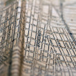 New York Vintage Map from 1903 Texture — Stock Photo