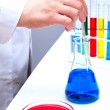 Laboratory Research Investigating Examining CSI — Stock Photo #9100558