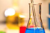 Laboratory Research Investigating Examining CSI — Stock Photo