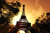 Paris Eiffel Tower 3D render — Stock Photo