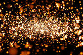 原子の粒子の 3 d レンダリング — ストック写真