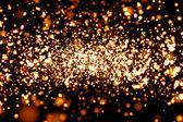 Rendering 3d di particelle atomiche — Foto Stock