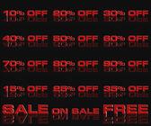 Discount sale — Stock Photo