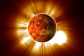 Red Planet — Stock Photo