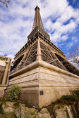 Eiffel Tower corner — Stock Photo