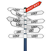 Finding your way — Stock Photo