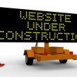 Royalty-Free Stock Photo: Website under construction