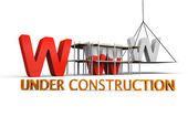 Website under construction — Stock Photo