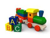 Toy train — Stock Photo
