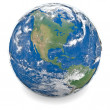 Stock Photo: Illustration of Earth