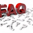 Frequently Asked Questions — 图库照片