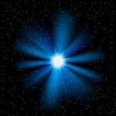 Sternen-himmel — Stockvektor