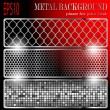 Metal background — Imagen vectorial