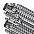 Royalty-Free Stock Vector Image: Metal tube.