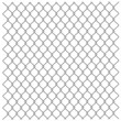 Royalty-Free Stock Vector Image: Metallic fence